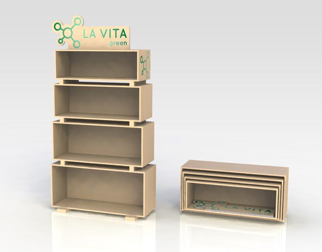 Expositor La Vita Green 01